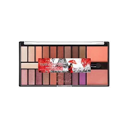 Lidschatten 20-Farben Augencreme Desert Rose Cherry Eyeshadow