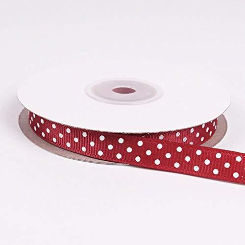 ALENAOO 5 Yards/Roll Cartoon Polka Dots gedruckt Grosgrain Ribbon schöne Serie Bänder Mädchen Hairbows 10mm, 33