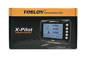 Toslon X-Pilot. Autopilot for Bait boats. GPS, 500 Way points, Batteries, Aerial by Toslon