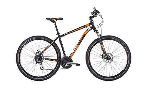 Barracuda Hombre Draco 4para Bicicleta, Color Negro/Naranja, tamaño Talla 20, tamaño de Cuadro 20, tamaño de Rueda 27.5 Centimeters