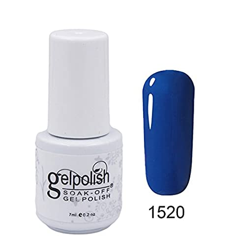 CLHVUZ UV-/LED-Gel-Nagellack, Soak-off-Lack, 7ml