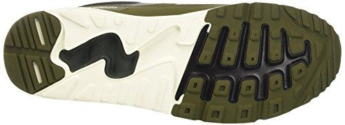 Nike Air Max 1 Ultra 2.0 Essential, Chaussures de Fitness Homme Noir (Black/Legion Green-Sail)