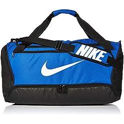Nike NK BRSLA M Duff-9.0 Sac de Gym Mixte Adulte, Bleu (Game Royal/Black/White), 61 Centimeters