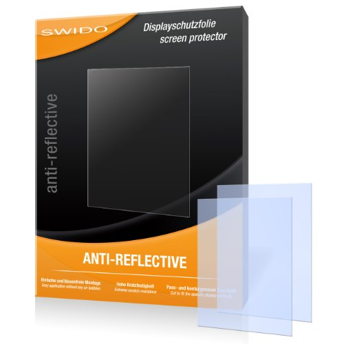SWIDO X031731 antireflektierend hartbeschichtet Displayschutzfolie für HTC Touch2/Touch-2 (2-er Pack)
