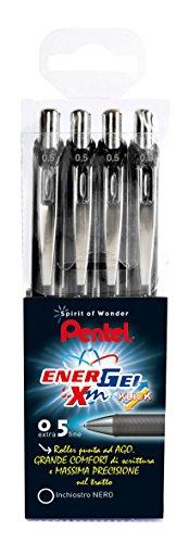 Pentel BLN75 Roller Energel XM Click, 0.5, Nero