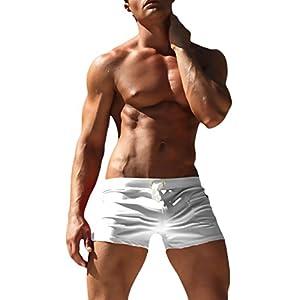 Costume da Bagno Uomo Boxer Estivi Hipster Slim Chic Unique Spiaggia Surf Nuoto Shorts con Coulisse Costumi Mare… 1 spesavip