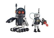 Playmobil - 6511 - Robots de l'Espace - ATTENTION : Sous EMBALLAGE PLASTIQUE, pas de boîte en carton BLEU pour cette référence.