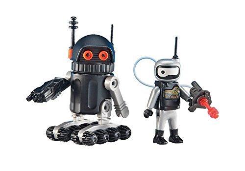 Playmobil - 6511 - Robots de l'Espace - Emballage Plastique, pas de boîte en carton