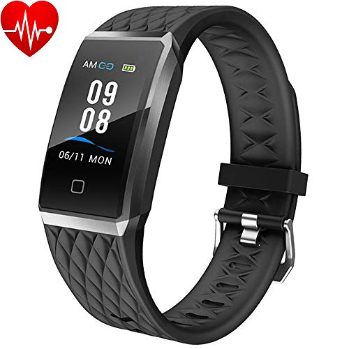 Willful Smartwatch Orologio Fitness Trakcer Donno Uomo Bambini Cardiofrequenzimetro da Polso Android iOS Impermeabile IP68 Smart Watch Sportivo Braccialetto Contapassi Corsa per Xiaomi Huawei iPhone