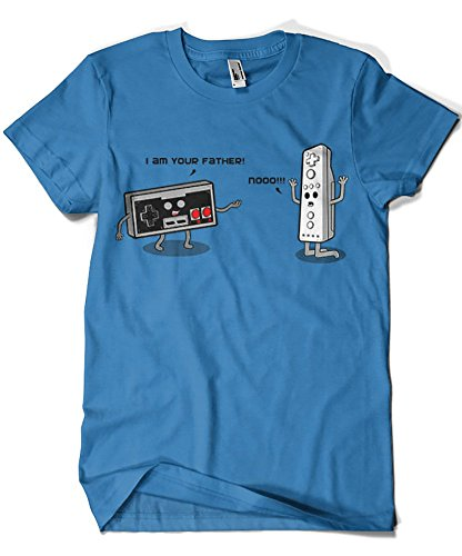 1182-Camiseta I Am Your Father Nes (Melonseta)