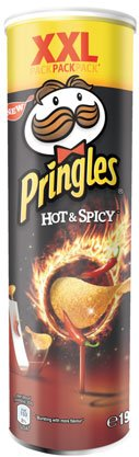 Pringles XXL Hot & Spicy – 190gr – 4x