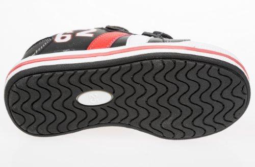 Gibra , Baskets pour homme Noir - Black / Rosso