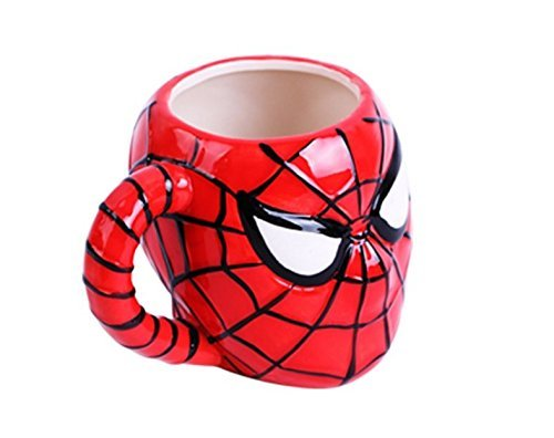 Superhero Ceramic Sculpted~ Mug 3D ~ Avengers (Spiderman)