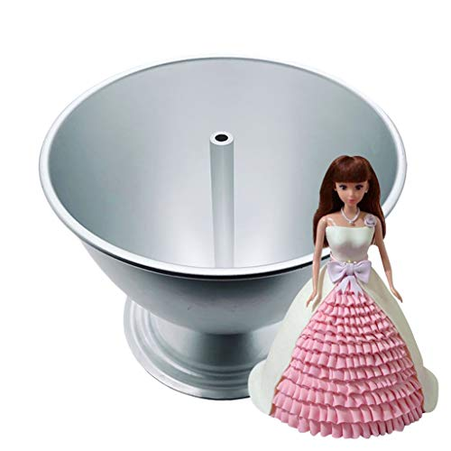 Wonder Mold Pan (Morran Wonder Mold Backformen-Set Puppe Backform Prinzessin DIY Form mit Antihaftbeschichtung,19.2x16x14.3cm)