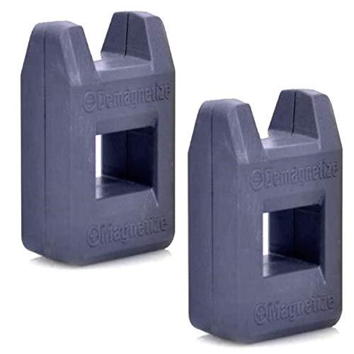 2er Set Universal Magnetisierer Entmagnetisierer | Kompaktes Magnetisiergerät | Entmagnetisiergerät | Magnet Werkzeug Zum Magnetisieren & Entmagnetisieren