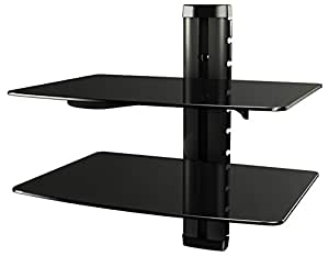 ricoo scaffale pensile tv scansia supporto da parete dvd design supporto dvd b2 porta in. Black Bedroom Furniture Sets. Home Design Ideas