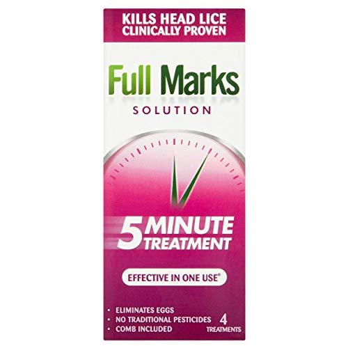 FULL MARKS SOLUTION Lösung Behandlung und Kamm, 200 ml -