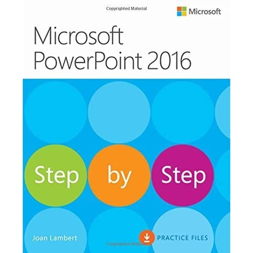 Microsoft PowerPoint 2016 Step by Step by Joan Lambert (2016-01-07)