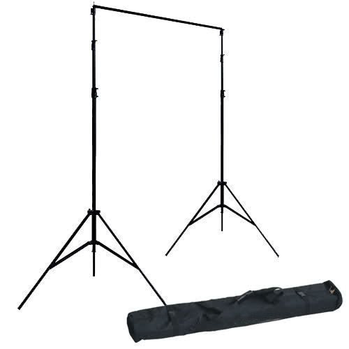 Einstellbare Pro Tragbare Hochleistungs-Kulisse Support System Kit 3m * 2.8m 10ft * 9ft - Stativ ist einstellbar + Carry Kit Bag- Fotostudio Bildhintergrund -