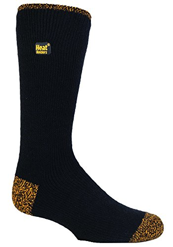 Heat Holders - Mens 2.3 tog Thick Thermal Work Socks with Reinforced Heel and Toe
