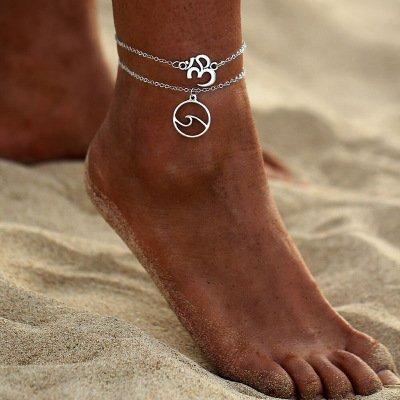 Regalo Día Madre Easy To Lubricate Tobillera De Playa Para Mujer Y Niña Nueva Active Jovono