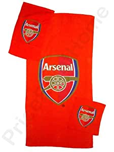 Arsenal FC 3 piece towel set