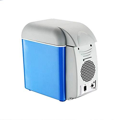 Frigoríficos mini, Nevera eléctrica portátil, frigorífico para coche 7,5 litros para automóviles,...