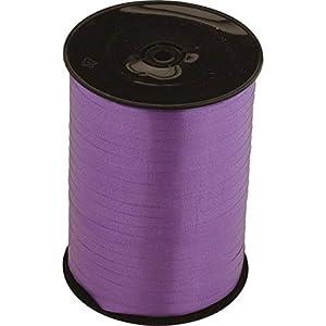 Amscan International - Cinta para lazos de globos/florista morada 5mm - cinta artesana x 500 metros