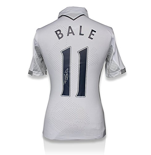 Icons-Shop-Unisex-ICGBTHS7-Gareth-Bale-Back-Signed-Tottenham-Hotspur-2012-13-Home-Shirt-Multi-Colour