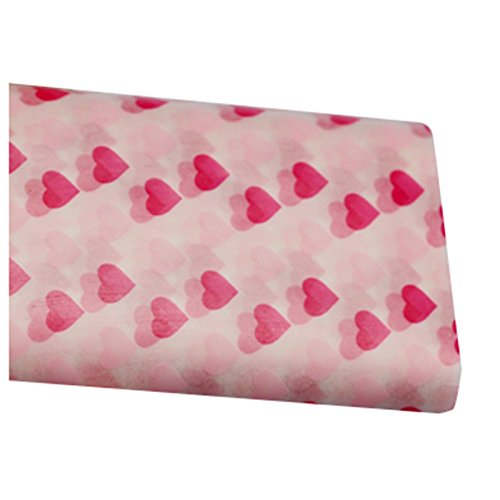 Food Wrapping Paper - TOOGOO(R) Wax Paper, Food Wrapping Paper, Greaseproof Baking Paper, Soap Packaging Paper £¨Red love section£©