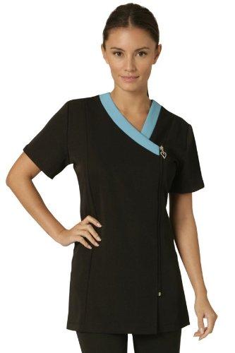salonwear-divise-per-bellezza-ribbon-tunica-nero-blu-trim-black-blue-46
