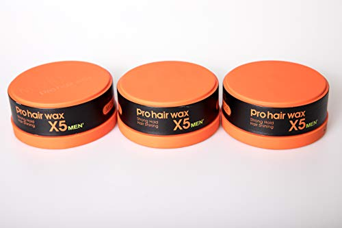 Morfose Pro Hair Wax Strong Hold 3 x 150ml (orange)