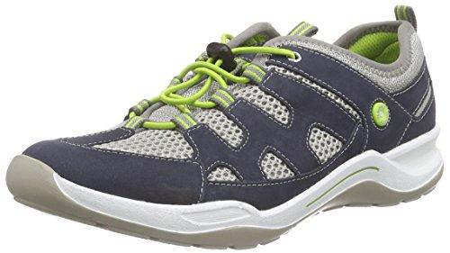 Remonte Dorndorf r5400, Chaussures de sport femme Bleu - Blau (pazifik/frost / 15)