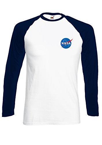 nasa-space-rocket-moon-space-astronaut-pocket-novelty-navy-white-men-women-damen-herren-langarm-unis