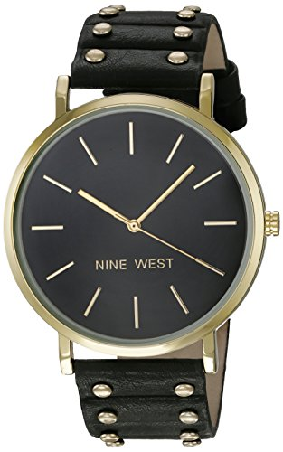 Nine West -  -Armbanduhr- NW/2056BKBK (Nine West Damen Uhren)