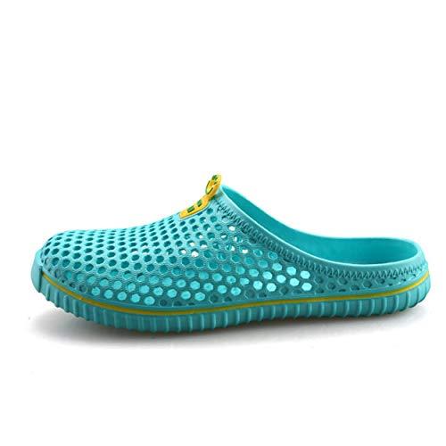 Sandali da Uomo Pantofole Estate Slip on Morbida Suola in Gomma Avvolto Toe Scarpe Casual Acqua Estate Outdoor Usura Resistente Spiaggia Sandalo per Piscina