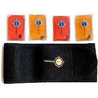 Wärmegürtel I Rückenwärmer I Heizkissen mit 4 x wiederverwendbare Taschenwärmer I Wärme für den Rücken – Hilft... preisvergleich bei billige-tabletten.eu