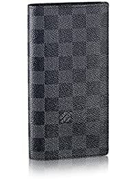 Louis Vuitton Damier grafito lienzo Brazza Wallet n62665