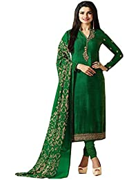 Special Mega Sale Festival Offer C&H Green Crepe Embroidery Designer Salwar Suits