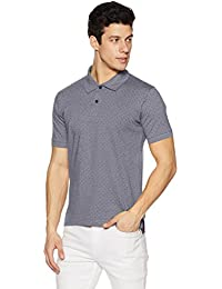 Amazon Brand - Symbol Men's Stylized Cotton Polo T-Shirt