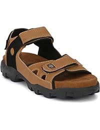 AUSTINJUSTIN HELL Men's Floaters, Sandals For Men Woodman