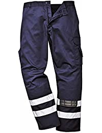 Portwest Workwear Iona Safety Combat Trousers - S917 - EU/UK