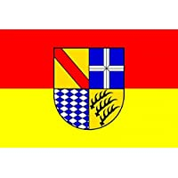 Aufkleber Karlsruhe Flagge Fahne 8 x 5 cm Autoaufkleber Sticker