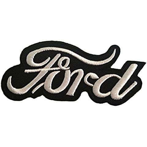 ''10, 7 x 5.0 cm' Ford aficionados Remiendo del logotipo - Parche Parches Termoadhesivos Parche Bordado Parches Bordados Parches Para La Ropa Parches La Ropa Termoadhesivo Apliques Iron on Patch Iron-On Apliques