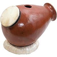 Urdu Tontrommel Flaschenform Haut Oberseite Ziegenfell Claydrum Percussion Udu Krug