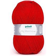 Gründl Big Mamma uni 400 g Ball red, Acrylic, 30 x 16 x 15 cm