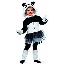 Limit Sport - Disfraz de oso panda con tutu, para niños, talla S (MB678)