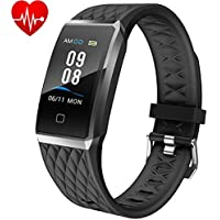 Willful Fitness Tracker Orologio Cardiofrequenzimetro da Polso Smartwatch Donna Uomo Impermeabile IP68 Schermo a Colori Braccialetto Fitness Smart Watch per iPhone Samsung Xiaomi Huawei Android iOS
