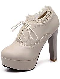 760db57a40b NJX  hug Zapatos de mujer - Tacón Stiletto - Tacones   Plataforma - Tacones  -