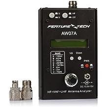 SainSonic Aw07a SWR HF VHF UHF Antena Impedancia Analyzer (VHF 80–190MHz; 350UHF–490MHz)